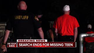 Teen with autism found safe after overnight search - Video