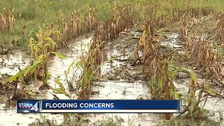 Wild weather causes flooding concerns for farmers and homeowners