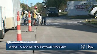 Problem Solvers: What to do with a sewage problem