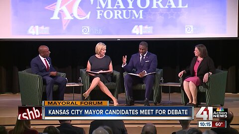 Mayoral candidates share hope for KC's future at final public forum
