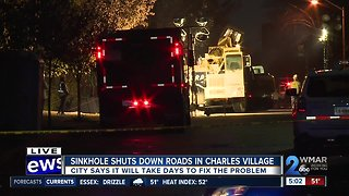 Structural concerns close E. 26th Street in Charles Village