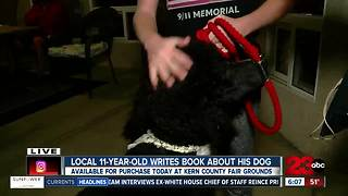 Local 11-year-old writes a book about all different types of poodles - Video