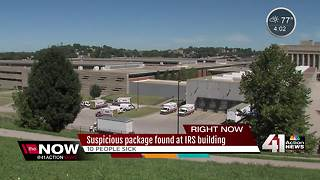 Suspicious package found at IRS building - Video