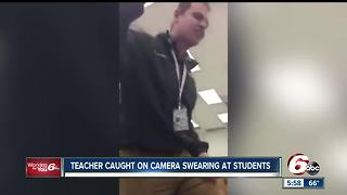 Teacher caught on camera swearing at students at Arsenal Technical High School in Indianapolis - Video