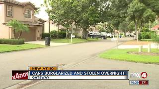 Vehicle stolen in Cypress Point - Video