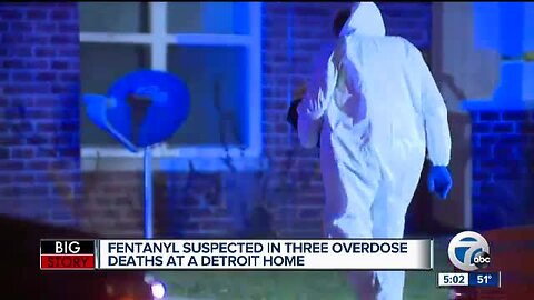 2 kids discover 3 adults dead in Detroit home after suspected overdoses