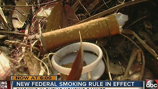 Public housing smoking ban - Video