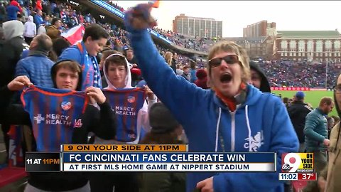 FC Cincinnati fan: 'You couldn't hear yourself think in that crowd'