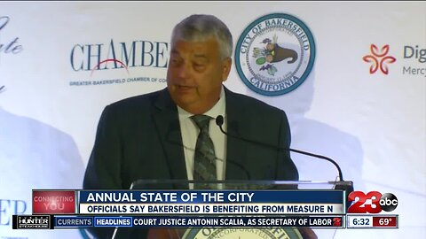 """The city of Bakersfield in """"excellent shape"""" according to outgoing city manager"""