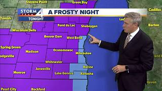 Freeze warning issued for parts of the area