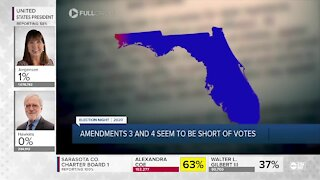 Florida amendments results slowly coming in