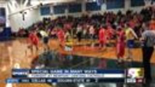 Special Olympians compete at Newport Central Catholic High School - Video