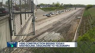 Westbound I-696 to close in Oakland County this weekend - Video