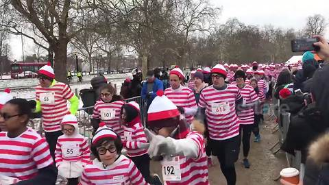 Thousands of Wallies brave Mini Beast from the East for UK fun run