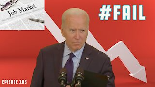 Biden Falls WAY Short of Jobs Expectations, Only Adds 1/4 of Goal | Booze & Banter | Ep 185