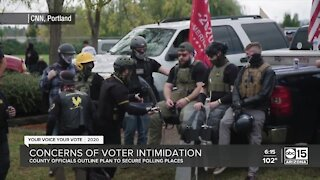 Could voters see intimidation when heading to the polls?