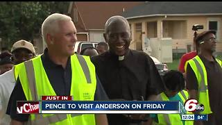 Vice President Mike Pence to visit Anderson - Video