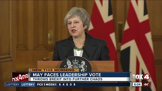 Theresa May to face no-confidence vote amid Brexit chaos
