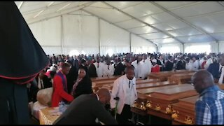 Mass funeral under way for Centane bus crash victims (HAt)