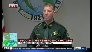 WATCH: Charlotte County officials brief media on Irma
