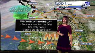 Amazing autumn weather across the Boise area for two more days - Video