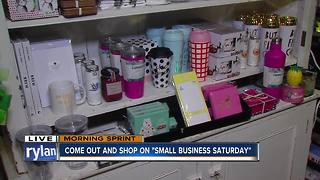 Shop local on Small Business Saturday - Becket Hatch - Video