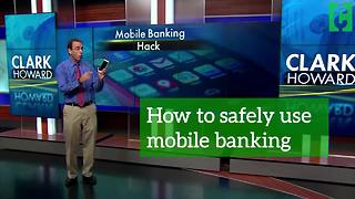 How to safely use mobile banking - Video