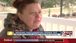 Only on 2: Wedding photographer speaks out