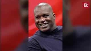 Shaq buys furniture for family aftter girl survives dog attack | Rare People - Video