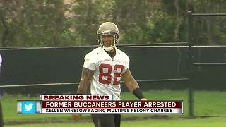 Former NFL player Kellen Winslow II charged with rape, kidnapping, sodomy