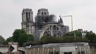 Notre Dame - Day After The Fire