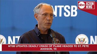 NTSB updates deadly plane crash that killed 10