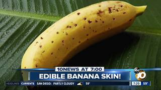 Banana with an edible peel? - Video
