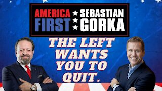 The Left wants you to quit. Don't. Eric Greitens with Sebastian Gorka on AMERICA First