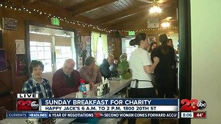 Happy Jack's serving up breakfast for charity Sunday Morning