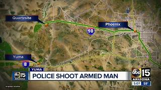 Man dies after officer-involved shooting in Yuma - Video