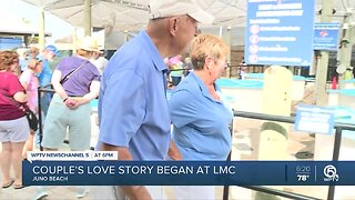 Couple finds love at Loggerhead Marinelife Center