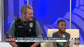 KCMO officer hopes to prevent violence - Video