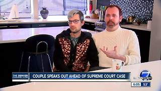 Couple speaks out ahead Supreme Court case