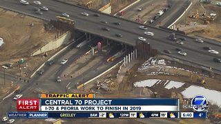 Central 70 Update: More work at Peoria & I-70