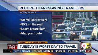 Nearly 51 million Americans to travel this Thanksgiving, marking highest volume in 12 years - Video