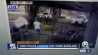 2 suspected of breaking into Vero Beach home - Video