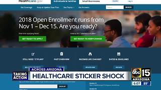 People with individual health care plans should expect spike in cost coming - Video