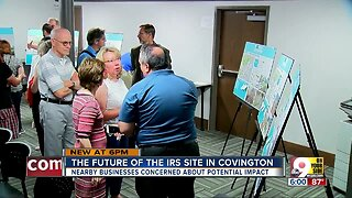 Covington worried about future of IRS site