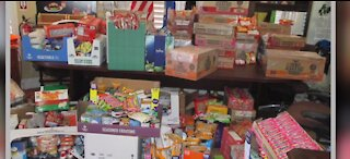 Veteran organization gives back with food giveaway in Nevada