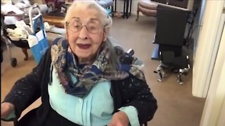 Chagrin Falls woman, 106 years young, gives vaccine advice to seniors