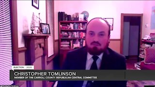Christopher Tomlinson Election 2020 Interview