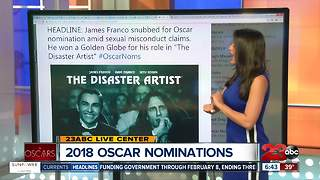 Top headlines from the 2018 Oscar Nominations