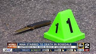 Police investigating stabbing death in Baltimore County - Video
