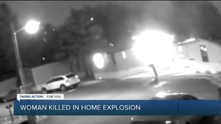 Deadly house explosion in Taylor caught on doorbell video